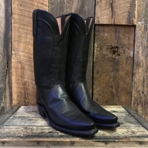 14c26ae415 LUCCHESE BLACK RANCH HAND BOOTS