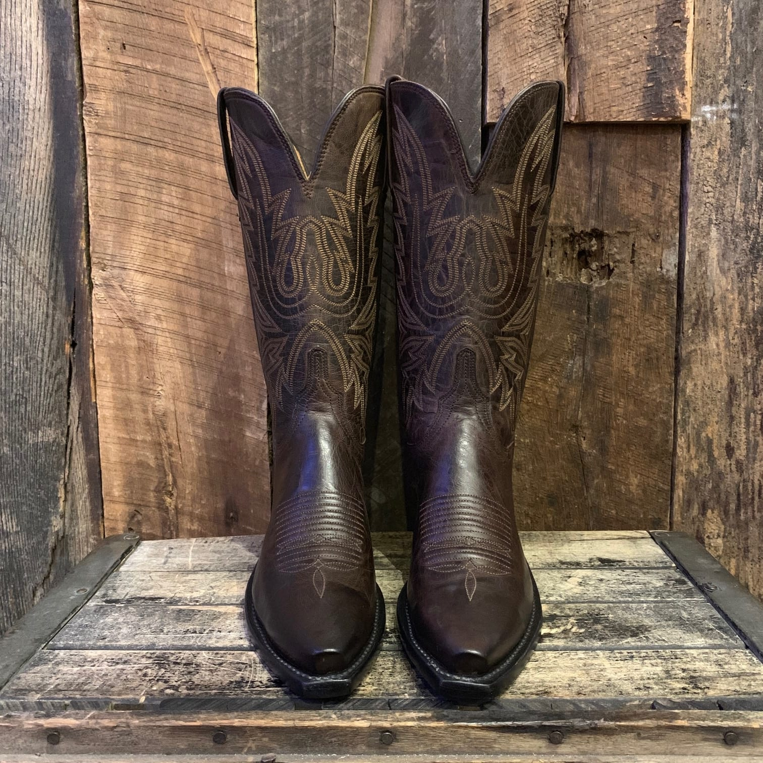 5395d07291493 LUCCHESE CHOCOLATE MAD DOG BOOTS – Kemosabe