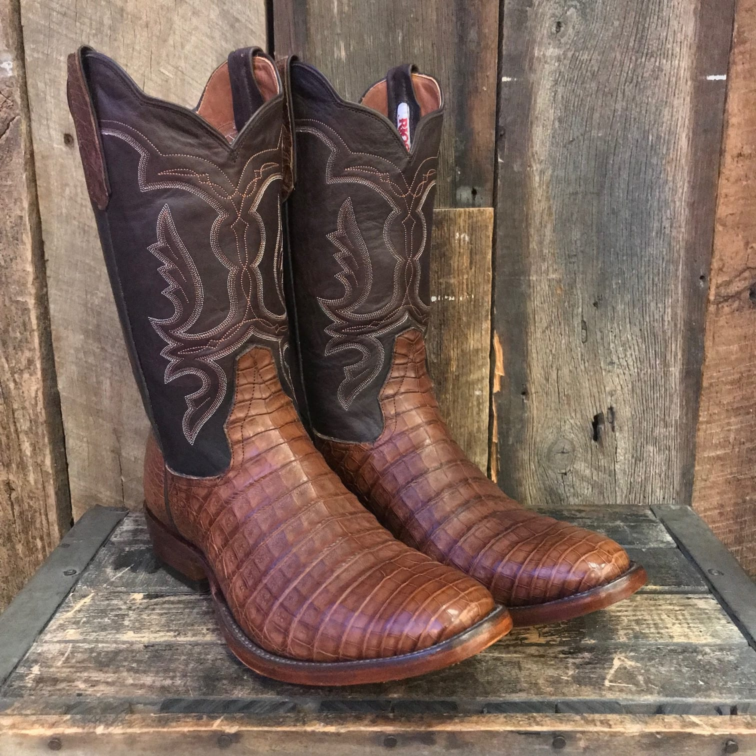 Rios Of Mercedes Suave Caiman Belly Boots