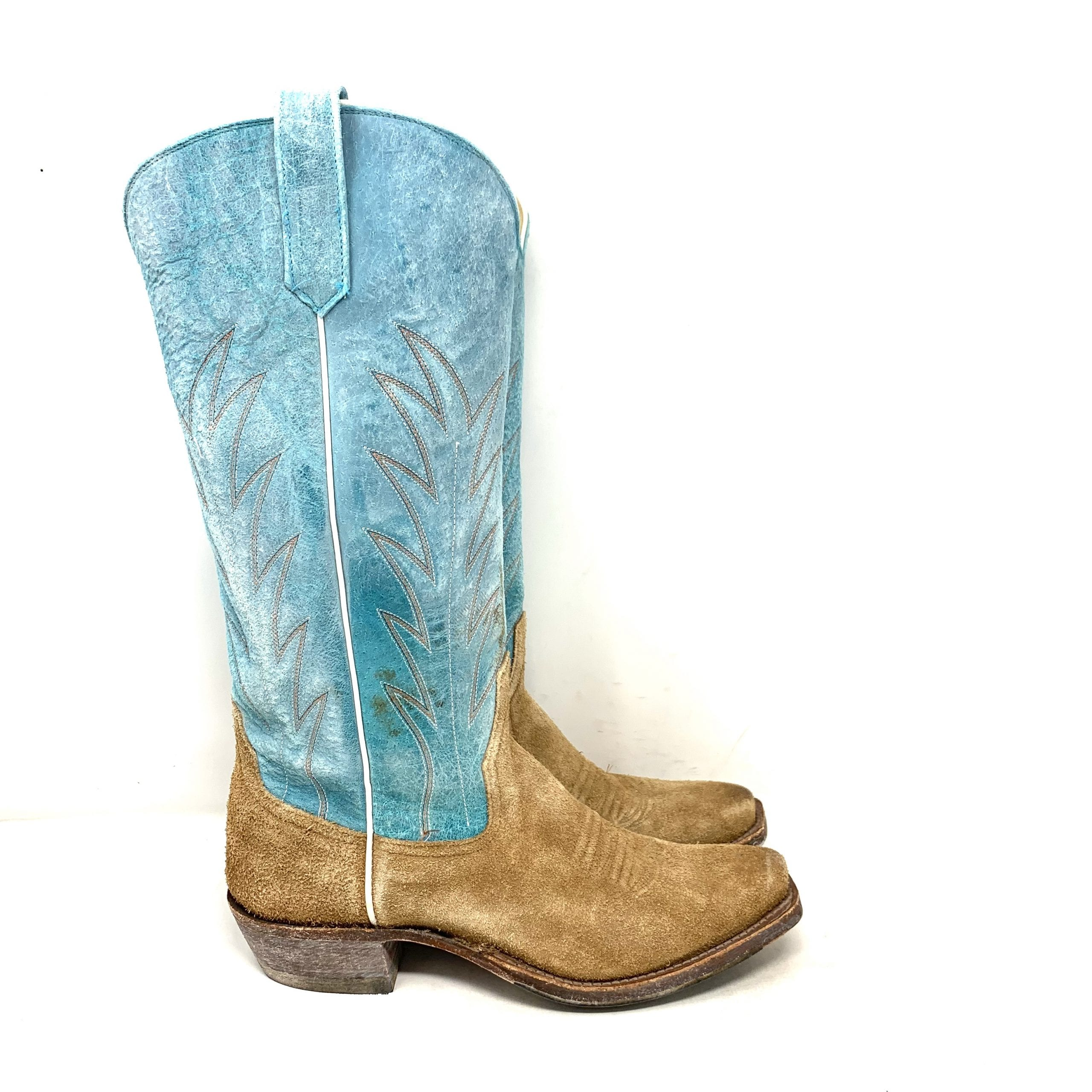 RIOS OF MERCEDES TURQUOISE BOOTS - Kemo